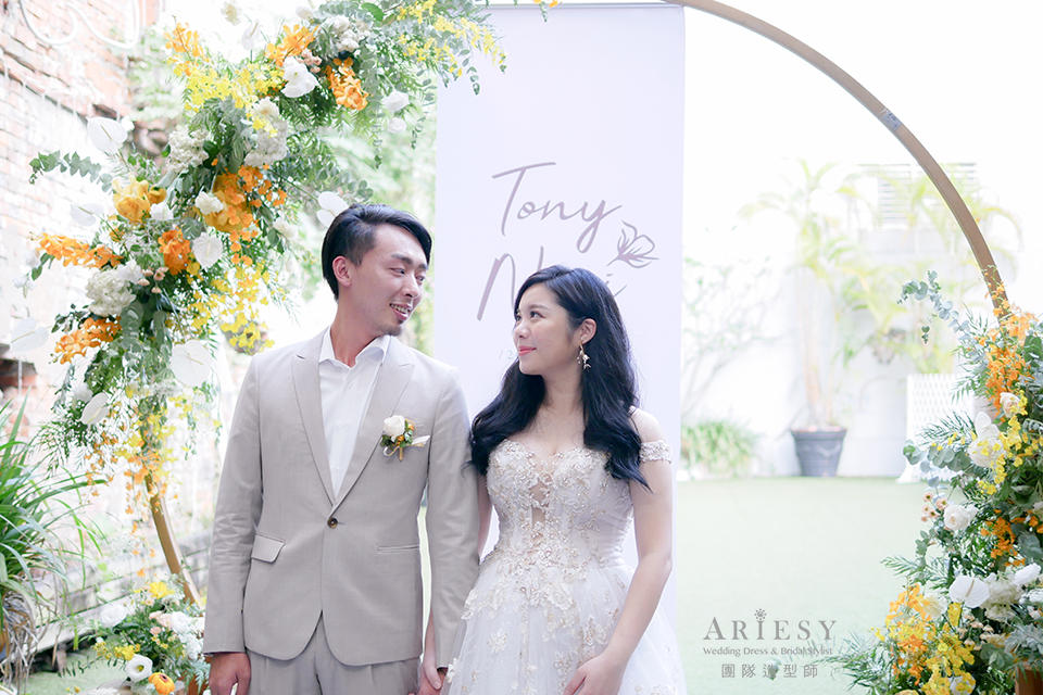 新娘造型,新娘妝感,新娘秘書,新娘髮型,美式婚禮